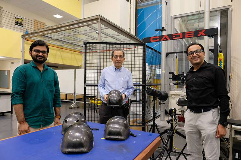 Tougher, safer bicycle helmets using a new plastic material