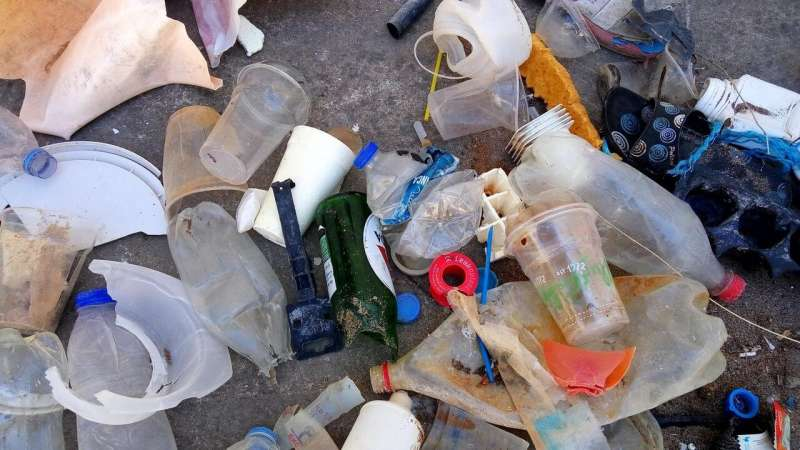 Tourism mainly responsible for marine litter on Mediterranean beaches