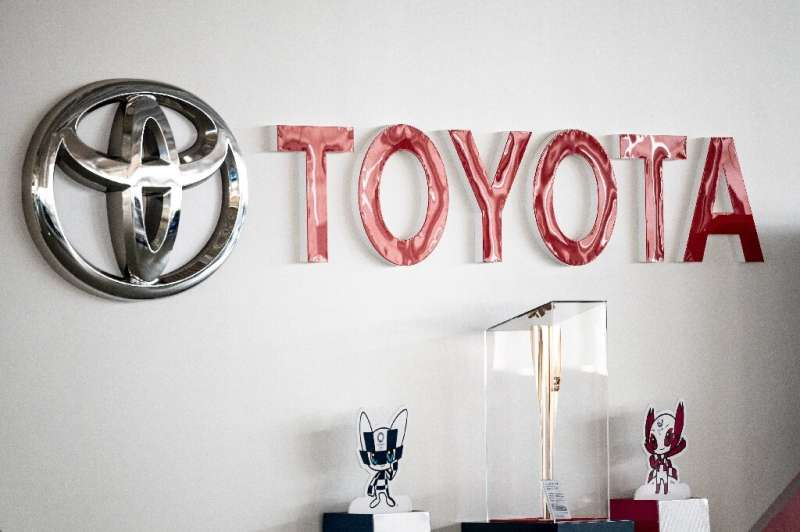 Toyota, the world's top-selling automaker, logged an $8.2 billion first-quarter net profit