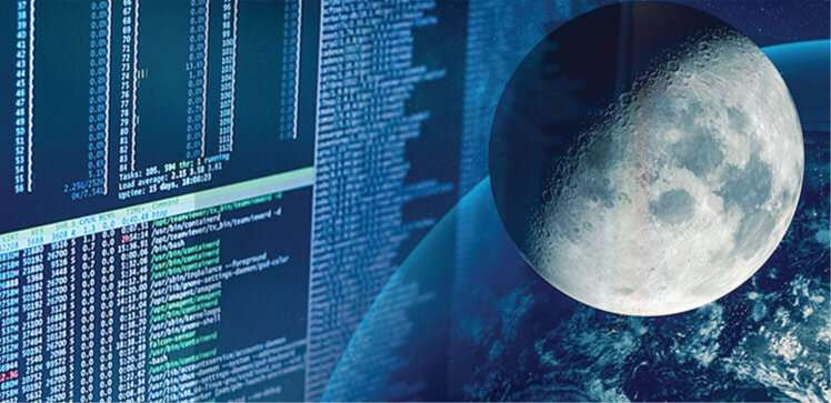 Training an AI eye on the moon