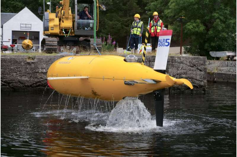 Trials of new robot submarines begin in scotland to reduce cost and environmental impact of future ocean missions