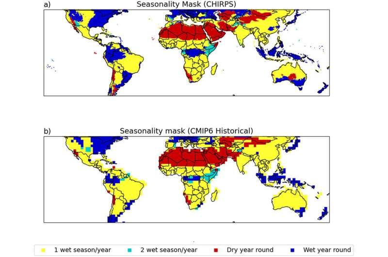 Tropical crops could suffer as climate change brings longer dry spells
