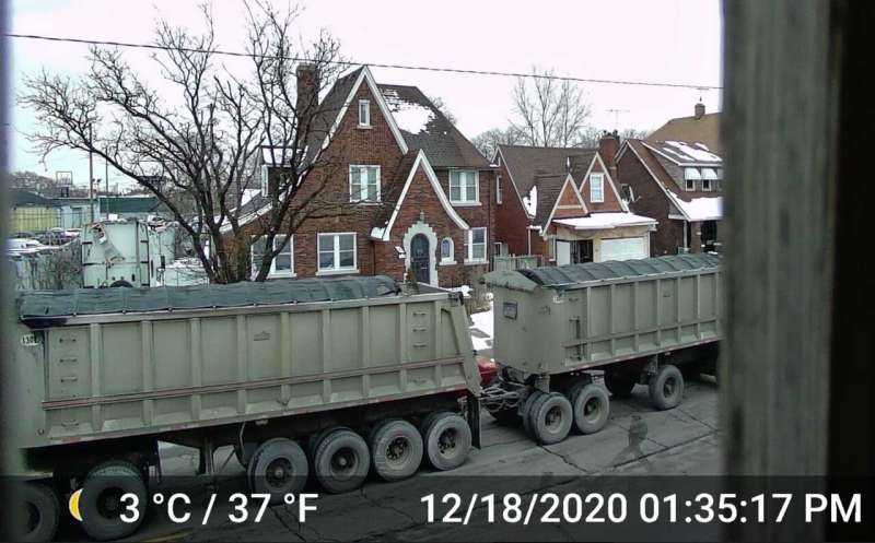 Truck noise in Southwest Detroit adds to public health concerns