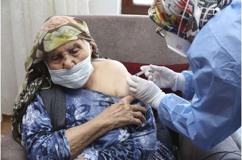 Turkey's Erdogan says extra 10M doses of Chinese vaccine due