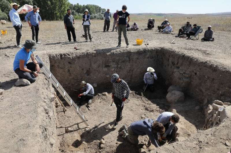 Turkish and Italian archaeologists painstakingly use shovels and brushes to discover more about the  powerful Hittite kingdom