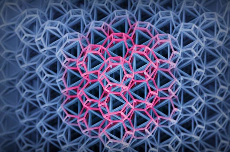 UCI-led team creates new ultralightweight, crush-resistant tensegrity metamaterials