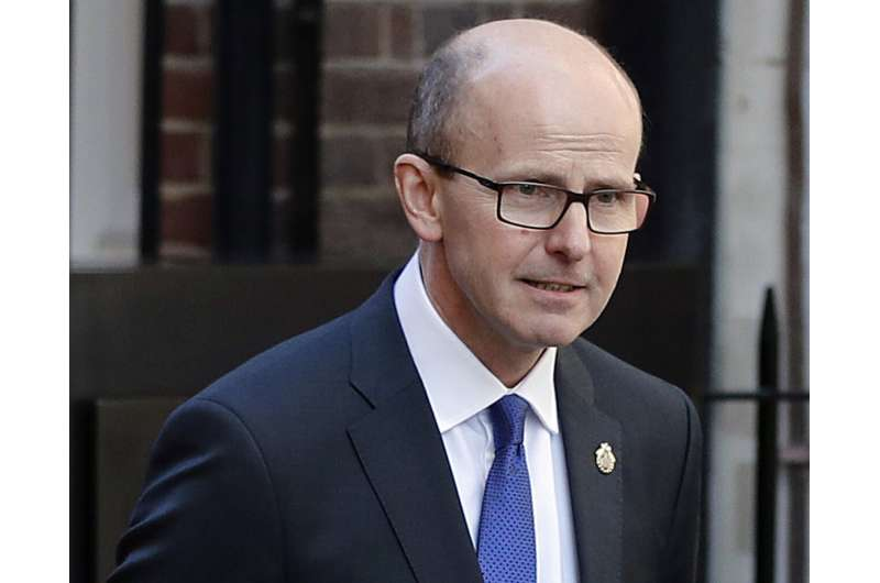 UK spy chief says West faces 'moment of reckoning' on tech
