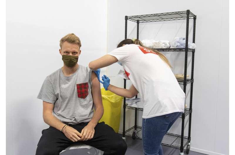 UK virus cases hit highest since Feb 5 amid 'grab a jab'