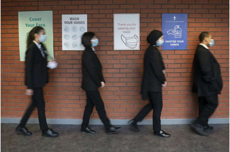 UK's vaccine assessor opts against COVID jabs for children