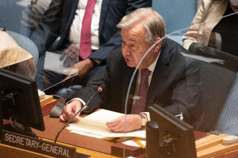 UN Secretary-General Antonio Guterres has called for the world to step up its fight against climate change