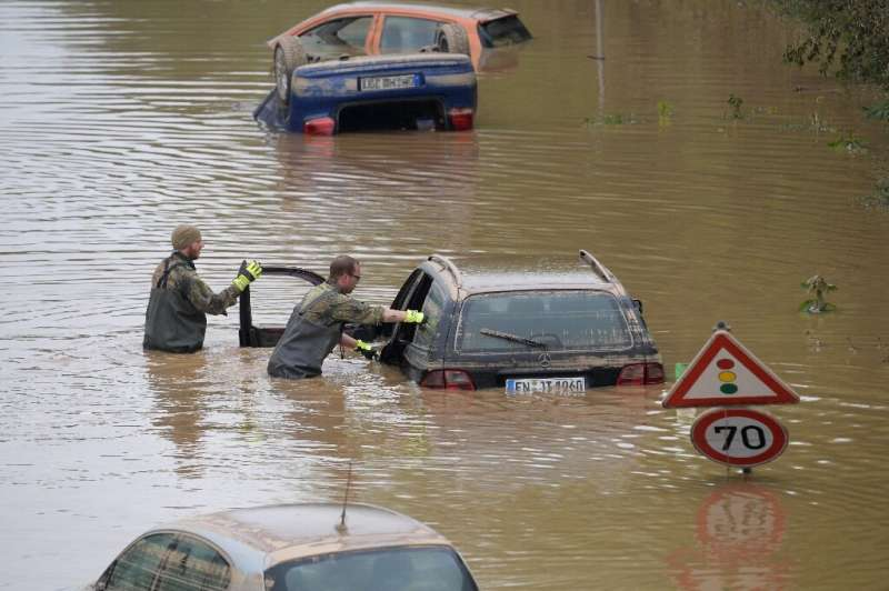 Under Germany's federal system, it is up to the 16 regional states to organise responses to flood alerts and coordinate efforts