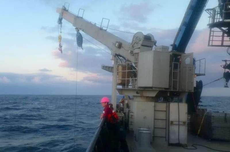 Undersea rocks yield earthquake clues