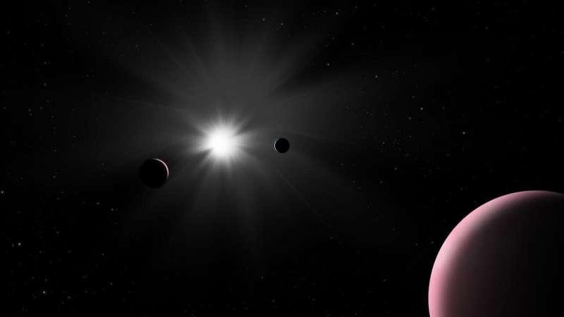 Μοναδικές ελαφριές βόμβες για εξωπλανήτες είναι η μελέτη του Khufu για το κοντινό σύστημα αστεριών
