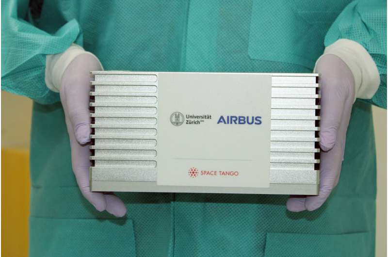 University of Zurich and Airbus to grow Miniature Human Tissue on the International Space Station (ISS)