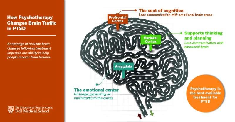 Unlocking PTSD: New study reveals why trauma-focused psychotherapy treatment works