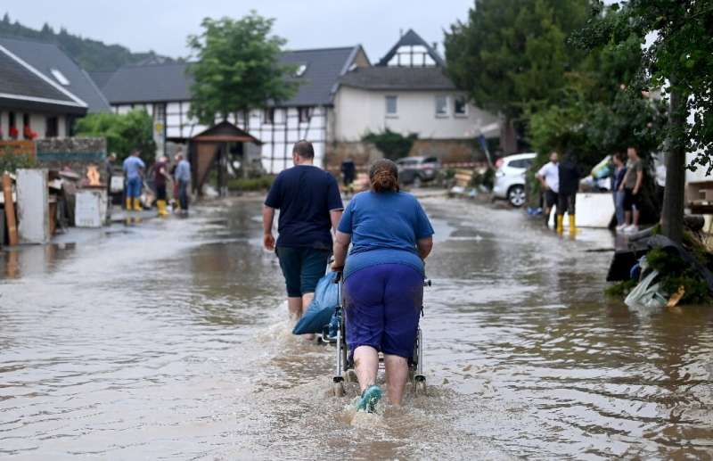 Unsuspecting residents were caught completely off guard by the torrent dubbed the 'flood of death'