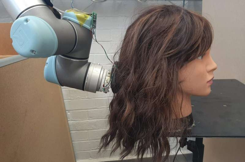 Untangle your hair with help from robots