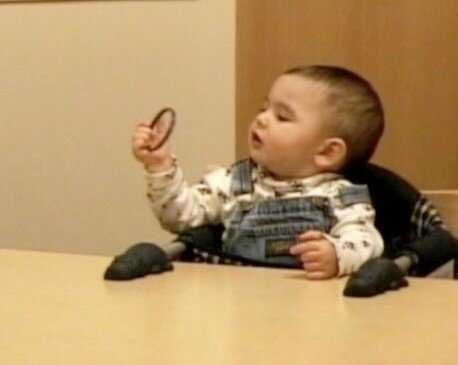 Unusual visual examination of objects may indicate later autism diagnosis in infants