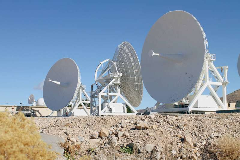Upgrades to NASA's space communications infrastructure pave the way to higher data rates