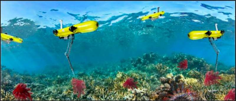 Using AUVs to control the outbreak of crown-of-thorns starfish (COTS) in Australia's Great Barrier Reef