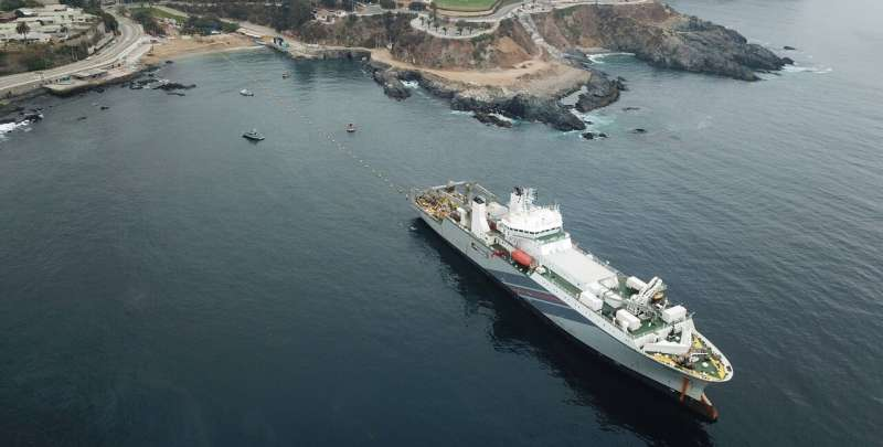 Using submarine cables to detect earthquakes