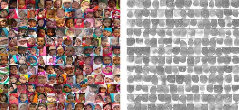 Using thumbprints, vaccination records to save children's lives