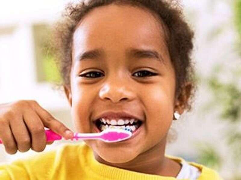 USPSTF advises applying fluoride dental varnish for young children