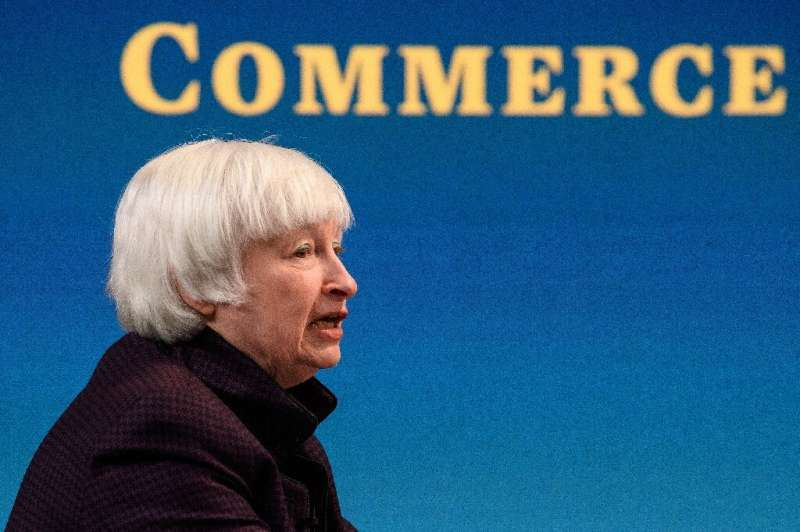 US Treasury Secretary Janet Yellen announced a shift in the US position on a global digital tax, clearing the way for a likely d