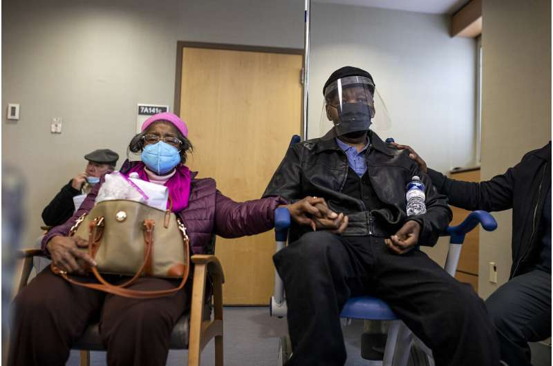 US virus numbers drop, but race against new strains heats up