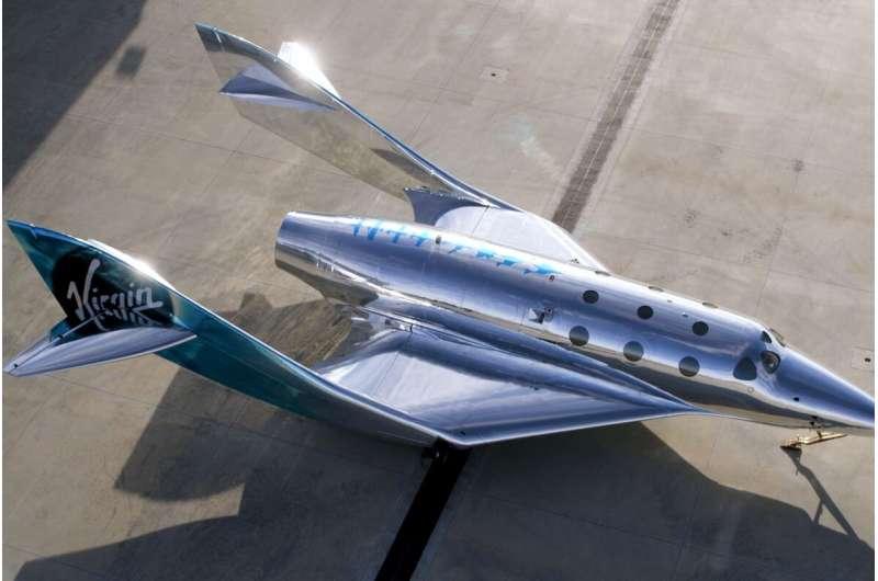 Společnost Virgin Galactic představila novou verzi své suborbitální lodi SpaceShip III