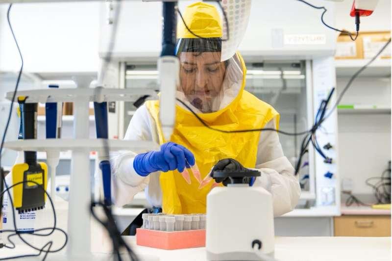 Virginia Tech's COVID-19 testing demonstrates power, versatility of academic labs