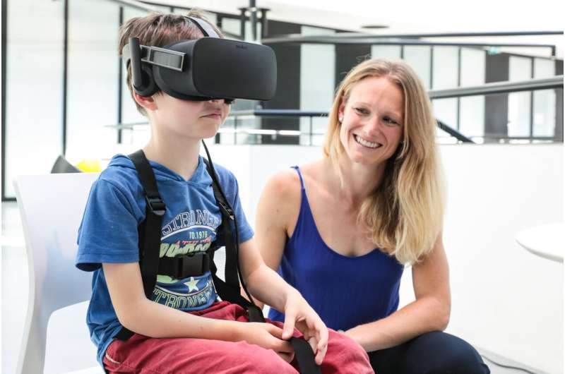 Virtual reality affects children differently than adults