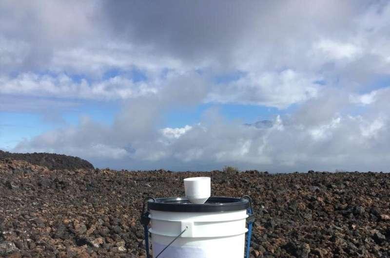 Volcanic eruptions, hurricanes affect rainfall on Hawai'i Island