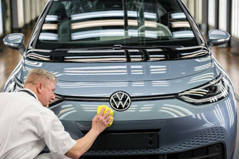 Volkswagen is betting its future on electic vehicles, like thisID 3