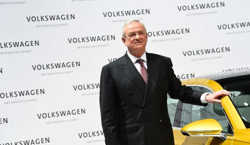 """Volkswagen is demanding compensation from ex-CEO  Martin Winterkorn for """"breach of duty"""" in connection with the """""""