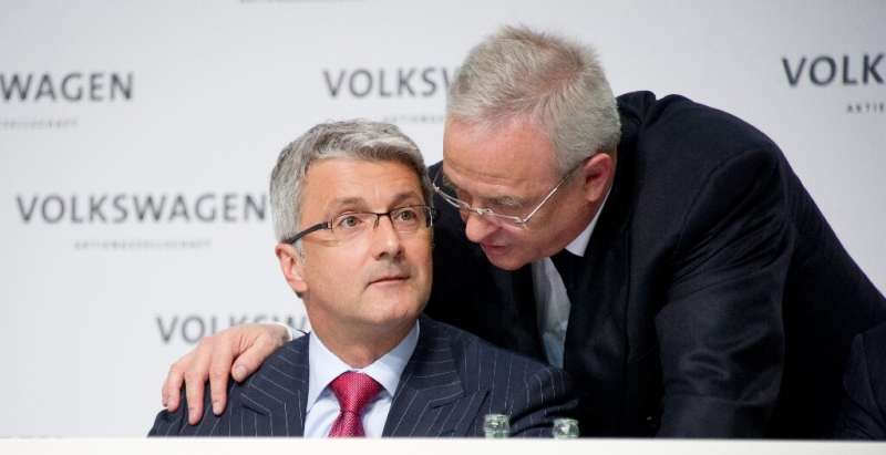 Volkswagen said it would demand compensation from Martin Winterkorn, ex-chief executive of the group, as well as Rupert Stadler,