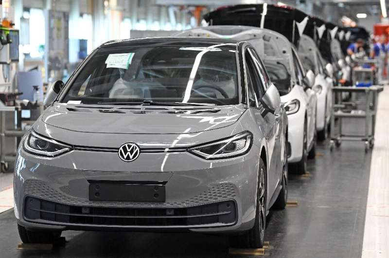 VW is aiming to overtake Elon Musk's Tesla, promising a whole new fleet of electric vehicles such as the id.3