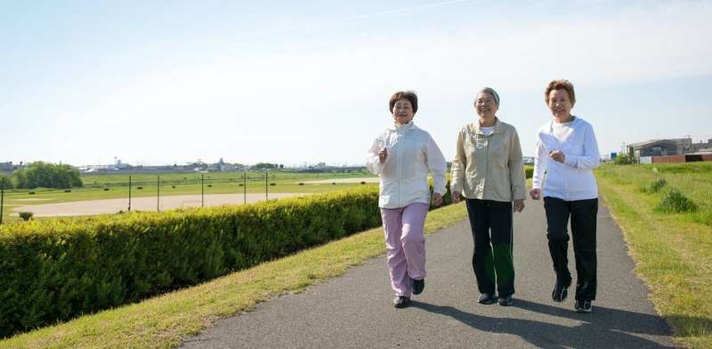 Walking can relieve leg pain in people with peripheral artery disease