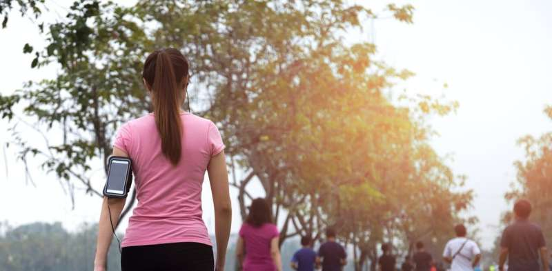 Want to exercise more? Try setting an open goal for your New Year's resolution
