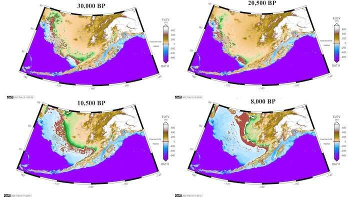 Was North America populated by 'stepping stone' migration across Bering Sea?
