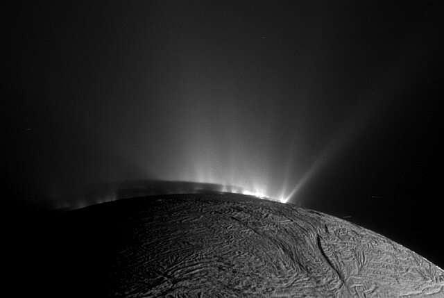 Watch: 14 Hours of Enceladus Geyser Action