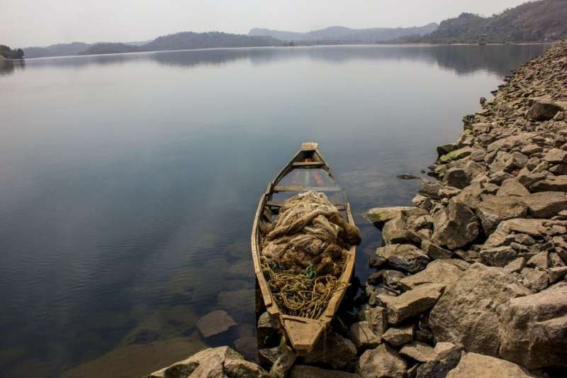 We found traces of drugs in a dam that supplies Nigeria's capital city