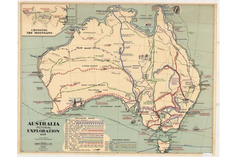 We mapped the 'super-highways' the First Australians used to cross the ancient land