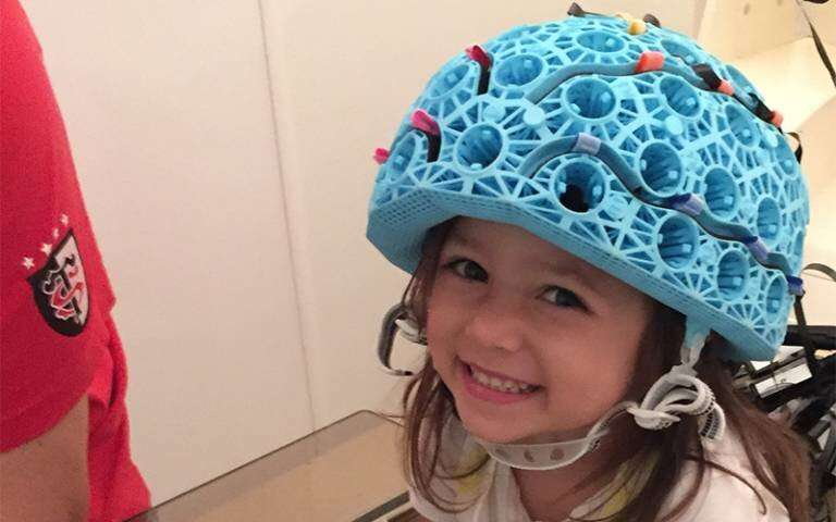 Wearable brain scanner to facilitate testing for children with epilepsy