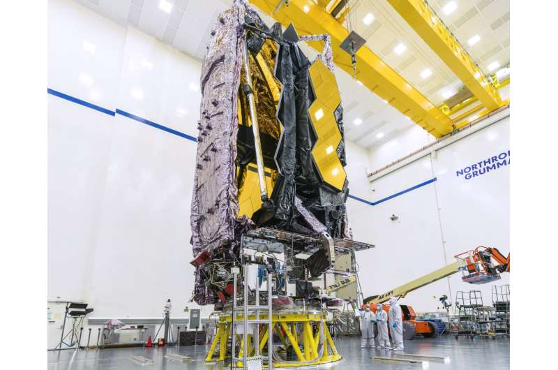 Webb completes testing and prepares for trip to Europe's Spaceport