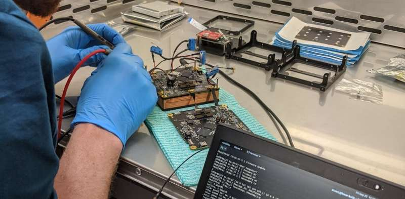 We're launching Australia's first scratch-built satellite, and it's a giant leap toward the moon