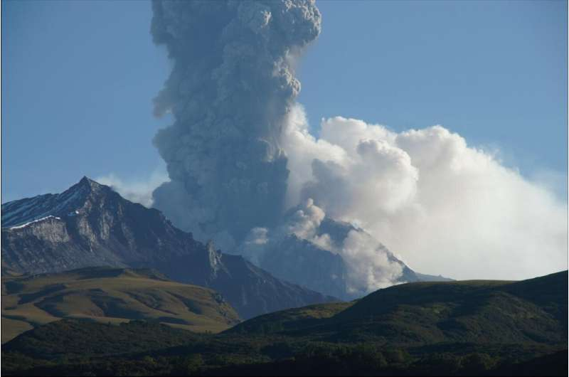 Wet and wild: There's lots of water in the world's most explosive volcano