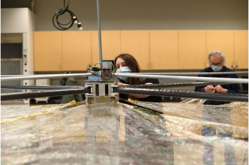 What goes up should come down: Spacecraft deorbiting device developed at Purdue ready for upcoming test launch