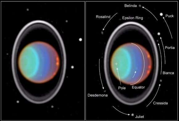 What mission could detect oceans at Uranus' moons?