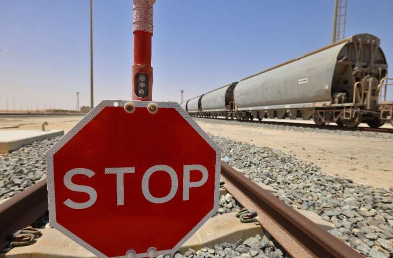 When completed Etihad Rail will operate 1,200 kilometres of track and also link with neighbouring Saudi Arabia